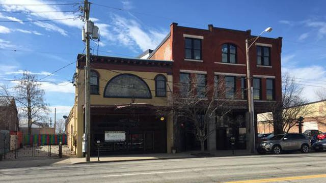 The building, located in the 700 block of East Market Street, has been purchased by an investment group led by Patrick Ley and Scott Howe.