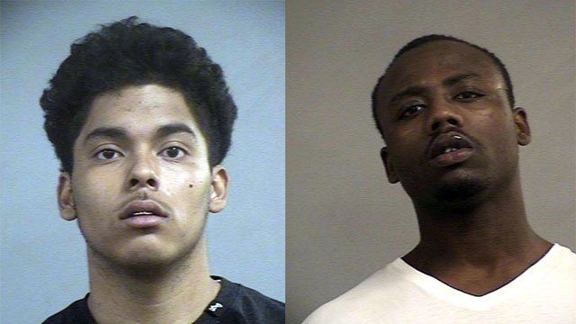 Cesar J. Perez and Jesse R. Yarbrough III (Source: Louisville Metro Corrections)