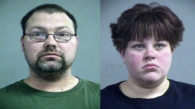 Gary Parker and Sarah Hovious (Source: Louisville Metro Corrections)