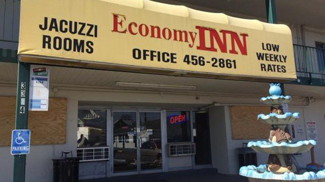 After failing an inspection in March, owners of the Economy Inn vowed to make improvements that would allow them to pass a follow up inspection thirty days later.