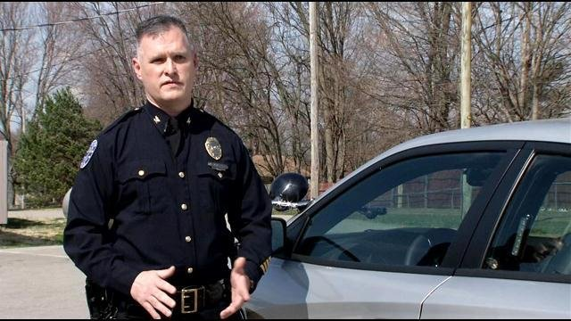 Chief Bill Mahoney has been in law enforcement for 21 years. He's worked with police departments in Hillview, Mt. Washington, and Louisville.
