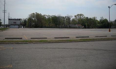 Former Showcase Cinemas site (PVA photo)