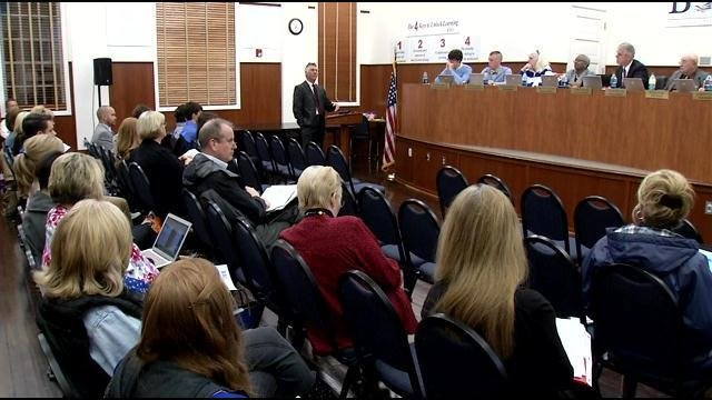 In a meeting of the Shelby County School Board Thursday, March 26, the board discussed implementing drug testing for student-athletes.