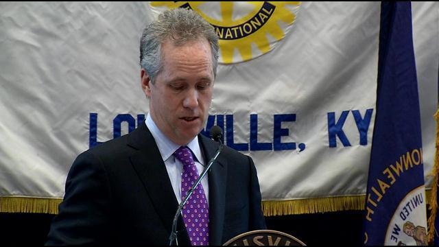 """Mayor Greg Fischer's office says he """"misspoke."""""""