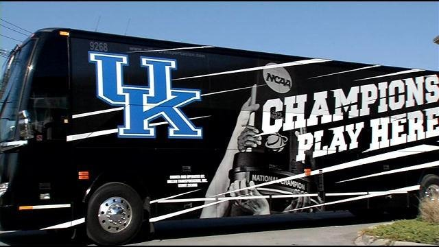When the Cats head to Indianapolis, they'll be traveling in style.