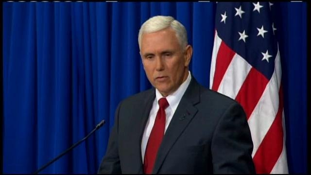 A WDRB file photo of Mike Pence.