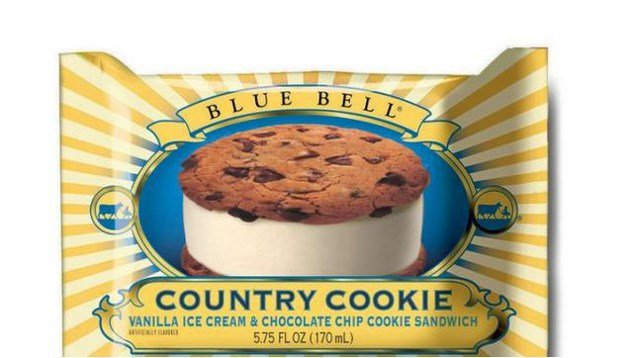 This undated photo provided by Blue Bell shows Blue Bell Chocolate Chip Country Cookies (AP Photo/Blue Bell).