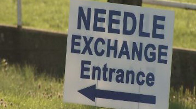 A temporary needle exchange program designed to get dirty needles out of the hands of heroin users began in Scott County, Indiana, last weekend.