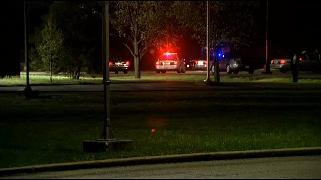 Deputy coroner Jo Ann Farmer tells WDRB News that 32-year-old Dustin South died of a self-inflicted gunshot wound to the head following an altercation with police officers near Lasstier Middle School Wednesday, April 8.