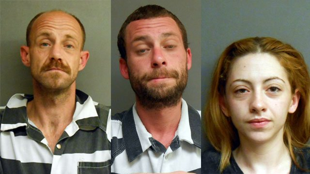 Police say 41-year-old James A. Walton  was living in a home on S. Pixley Knob Road in eastern Washington County with 31-year-old Jonathan Hayes and 25-year-old Eva Campbell.