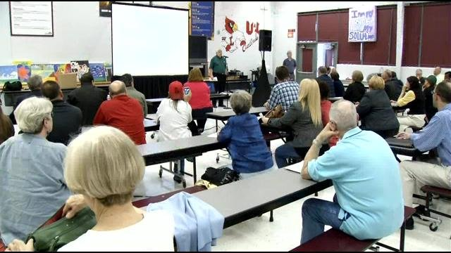 A community forum was held Monday night to discuss the future of the motel. If it doesn't pass a health inspection next week, its permit will be suspended.