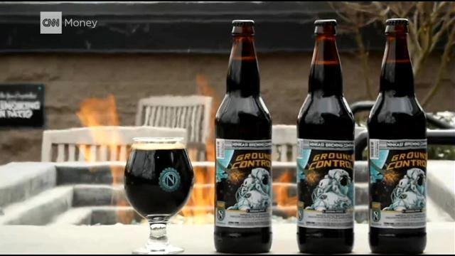 You've heard about the $1,000 Mint Julep. What about a $20 space beer?