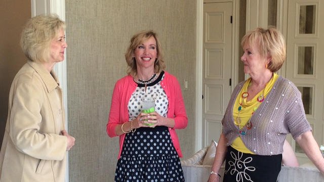 Kelley Paul (center) at her Louisville book signing.