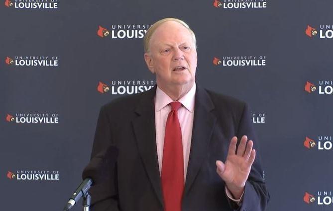 University of Louisville President James  Ramsey