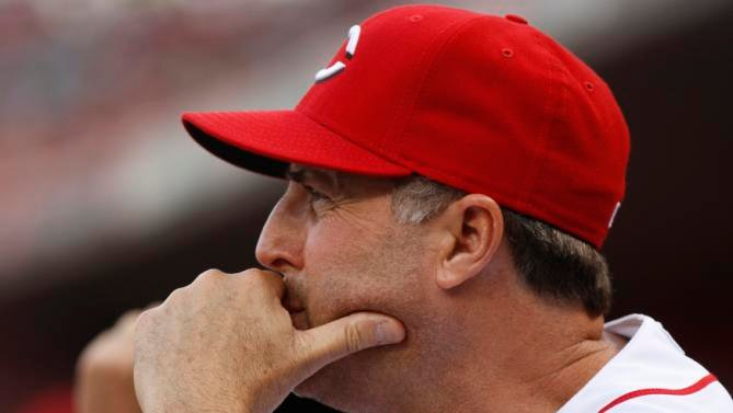 Cincinnati manager Bryan Price dropped 77 F-bombs in a rant with reporters on Monday. AP image.