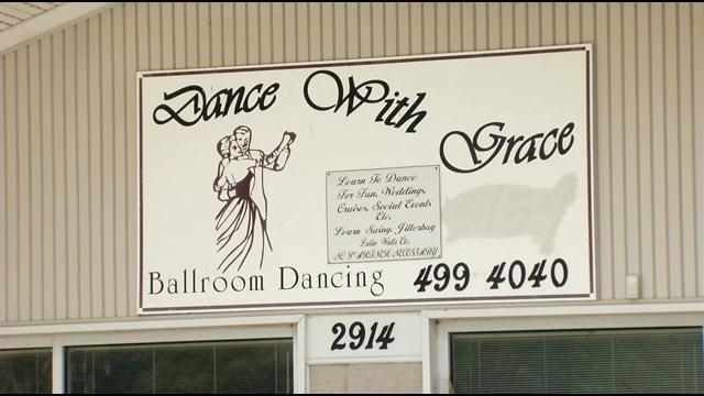 The Dance With Grace dance studio.