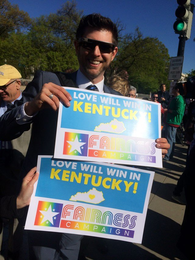 Six Kentucky couples are among the plaintiffs in a case that will decide the future of gay marriage across the country.