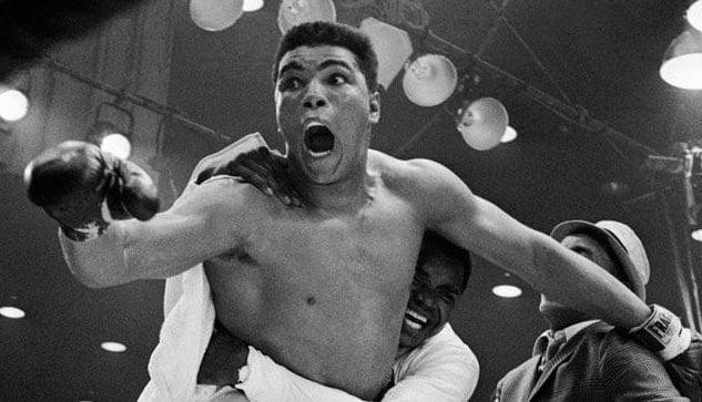 Archival Ali photo via Muhammad Ali Twitter account.