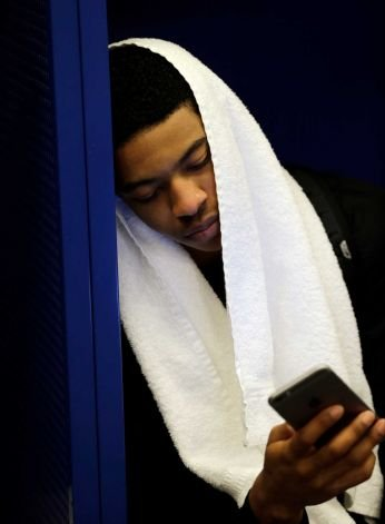 Tyler Ulis after last season's Final Four loss to Wisconsin. AP photo.