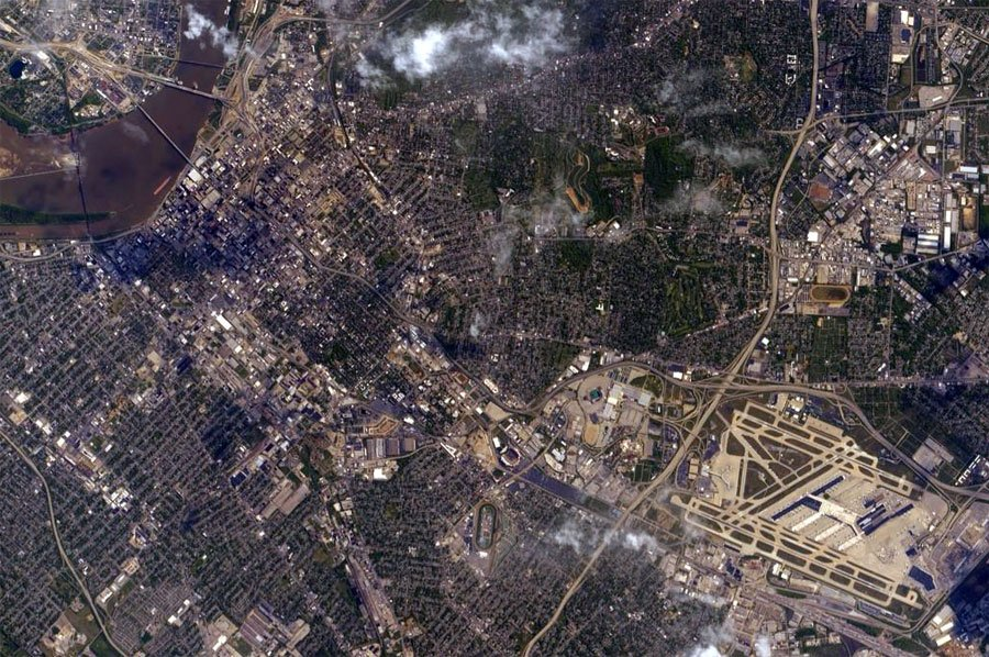 Churchill Downs from the International Space Station (Photo by: Scott Kelly / NASA)