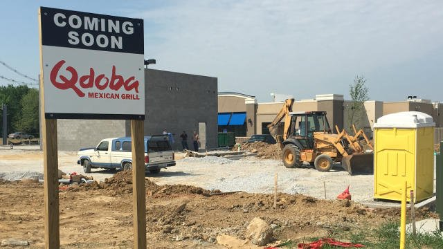 Liquor Barn, Five Guys, Chick-Fil-A, Qdoba and Panera Bread are set to open in late May or early June.