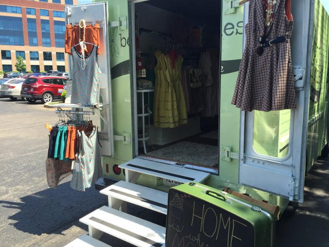 Betty Jeffries mobile boutique.