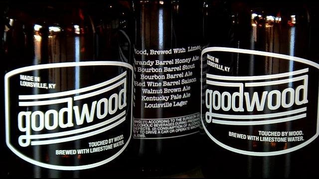 Bluegrass Brewing Company, located along East Main Street in downtown Louisville, is now Good Wood Brewery.
