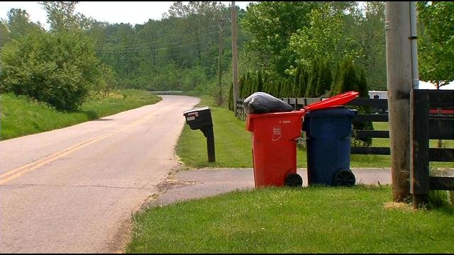 Customers say their trash hasn't been picked up for a month and, in some cases, longer.