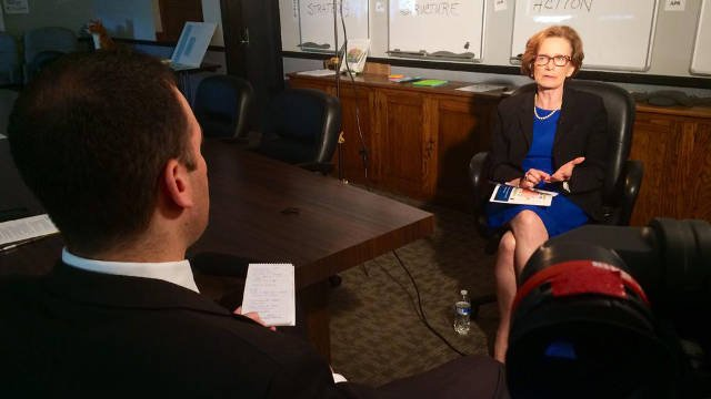 WDRB's Ryan Cummings sits down with Donna Hargens on May 13, 2015, to talk about JCPS as the superintendent begins her second contract with the district.