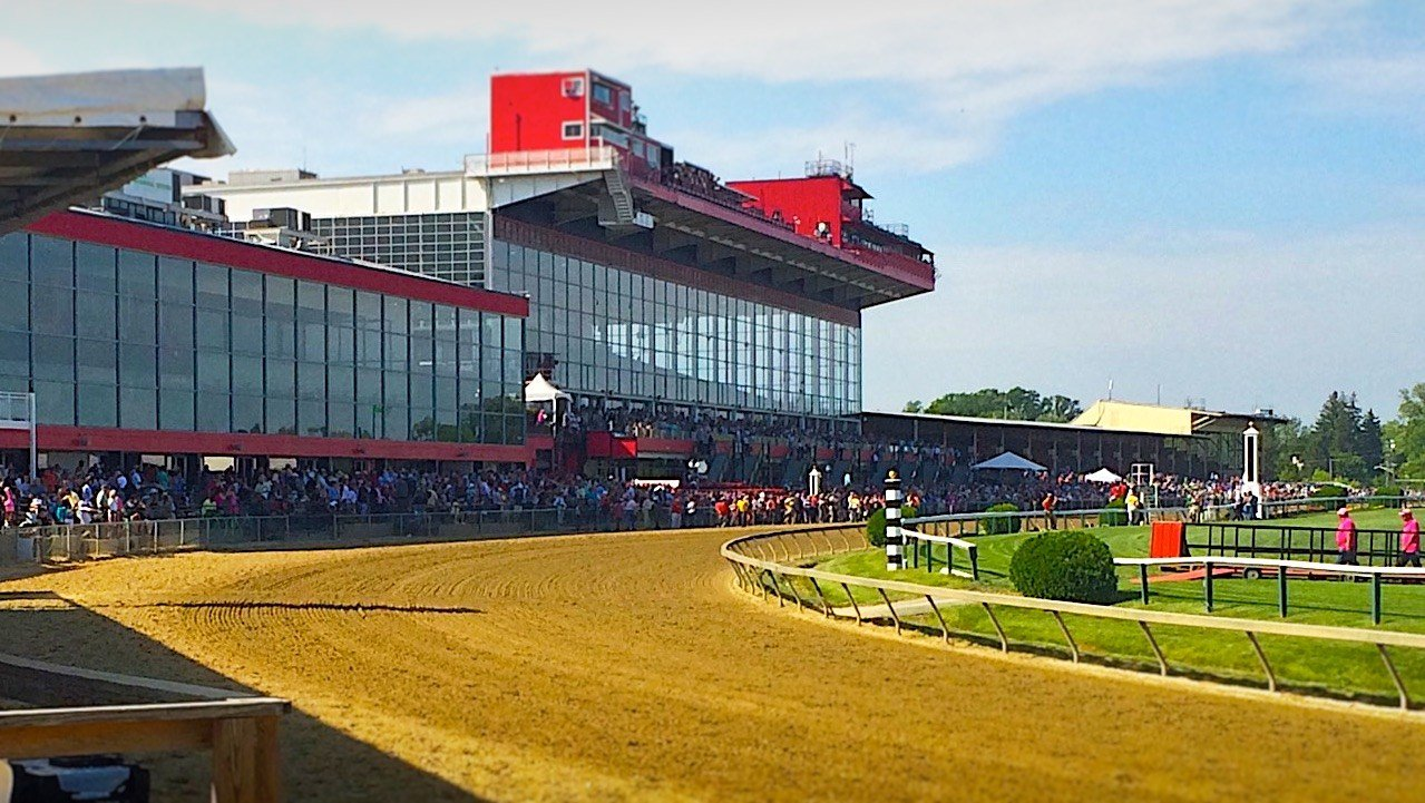 Pimlico Race Course. (WDRB photo by Eric Crawford)