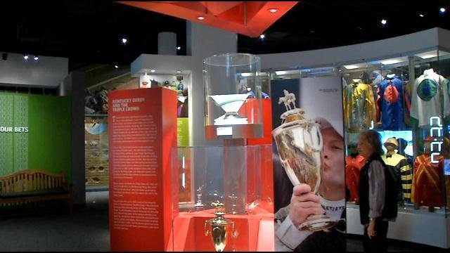 The Triple Crown trophy remains on display at the Kentucky Derby Museum until another horse wins the Derby, Preakness and Belmont -- a feat that hasn't been achieved since 1978.