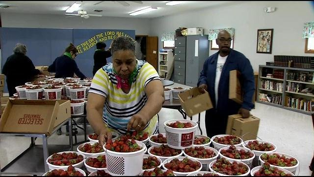 The season kicks off with a strawberry festival and then includes bi-weekly Fresh Stops from June through October.