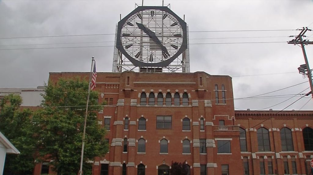 The former Colgate plant in Clarksville