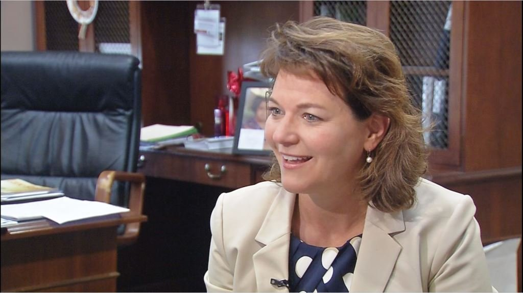 Wendy Dant Chesser, CEO of One Southern Indiana