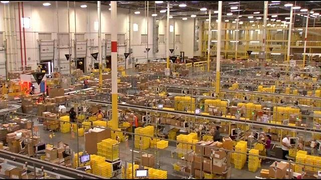 Amazon Fulfillment in Jeffersonville is looking to fill 500 positions as soon as possible.