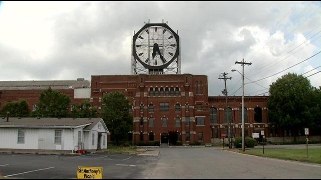 Thursday night, a packed room of Clarksville residents got a look at some ideas for a 320-acre site that includes the old Colgate manufacturing facility, and its iconic clock, all the way to Stansifer Avenue.