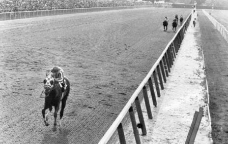 Secretariat made the Triple Crown look easy in his 31-length victory in the Belmont. (AP file photo).