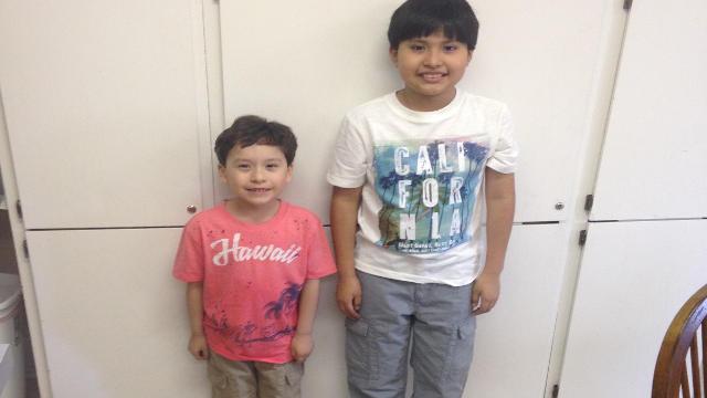 Edward E. Gutierrez, age 6 and Edgar A. Gutierrez, age 10 (Source: La Grange Police).