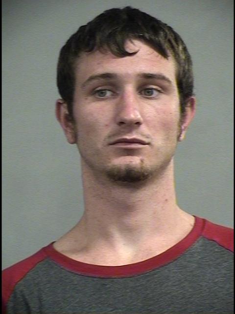 Tyler Tweedy after his arrest Wednesday June 3, 2015. (Metro Corrections photo)