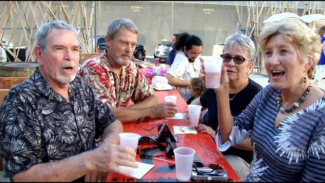 Louisville residents enjoy the Old Fashioned at Resurfaced on Thursday.