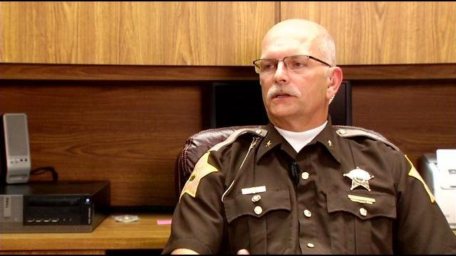"""We can't let public safety suffer,"" said Sheriff Loop, who took office in January."