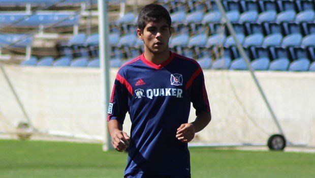 Colin Fernandez, 18, joins Louisville City on loan from the Chicago Fire.