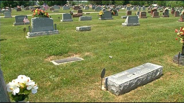 This seems to be a case involving two victims. Both have loved ones buried at the Mt. Zion Cemetery in Henryville, Indiana.