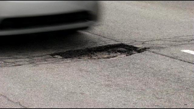 Visitors and residents alike say the roads are terrible, uneven and filled with potholes (File photo).