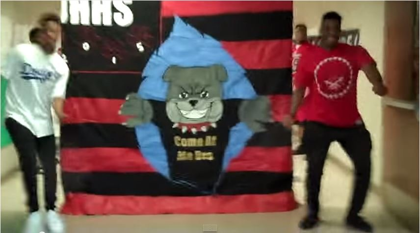 John Hardin High School students created the video above for the Phillip Phillips lip sync contest (Source: YouTube).