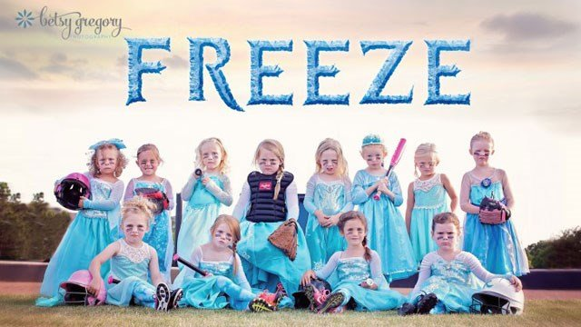 """Copyright Betsy Wagner-Gregory – """"Freeze"""" team photo (click for larger version)"""