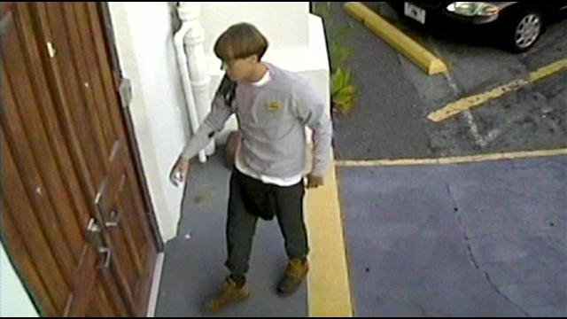 Poalice say Dylann Storm Roof, 21, spent nearly an hour inside the church Wednesday night before killing six women and three men, including the pastor.