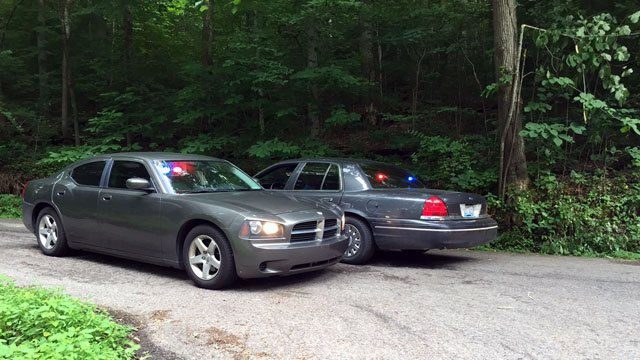 Image taken on Pendleton Road in Bullitt County, near the location where Hassler's body was found.
