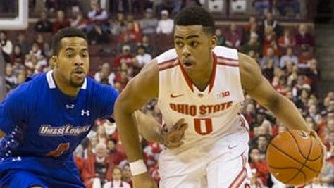 Louisville native D'Angelo Russell was projected to go third, but the Lakers picked up the former Ohio State player with the second pick.