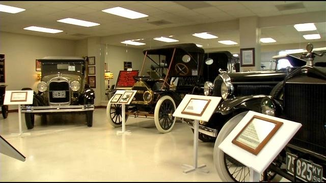 The museum in E-town only holds half of the Swope family collection.